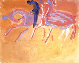 Riders. Sketch, 1962