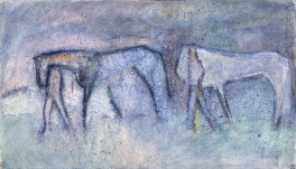 Troop of Circus Horses, 1967