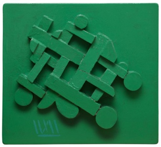 Green Composition, 1987