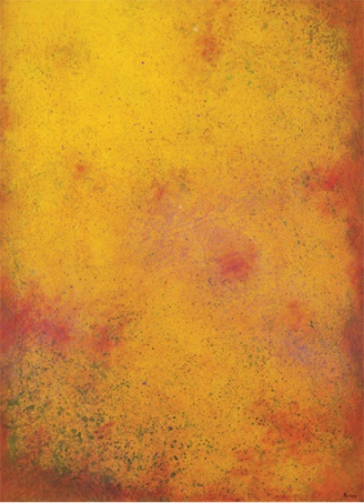 Yellow Composition, 1976