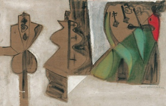 Figures in Space, 1971