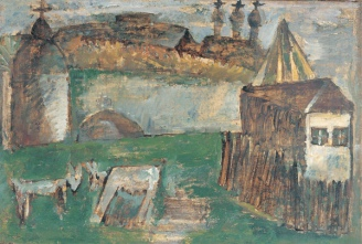Landscape. Tutayev, 1990