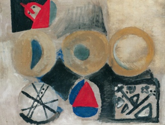 Composition with Circles, 1970