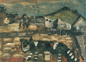 Cat in the Prison Camp, 1987