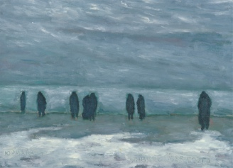 People at the Sea, 1986