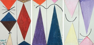 The Phonetics of Colour (triptych), 1974
