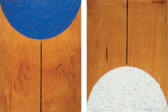 Disappearance (diptych), 1985
