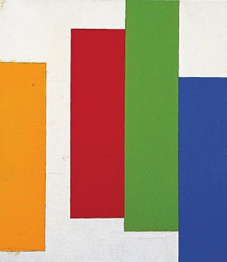 Accords. No 45. Vertical Lines Series, 1991